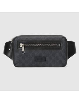 sac-ceinture-en-toile-suprême-gg-souple by gucci