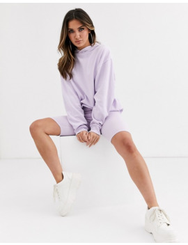 asos-design-co-ord-oversized-hoodie-in-lilac by asos-design