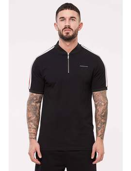 Liberty Black Polo by Good For Nothing Mens