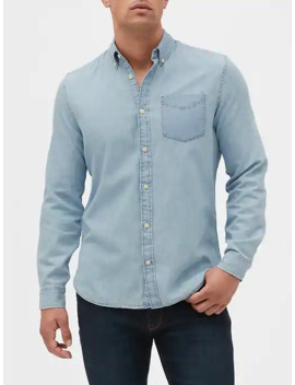 Denim Shirt In Slim Fit by Gap