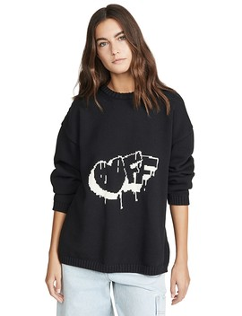 knit-oversize-sweater by off-white