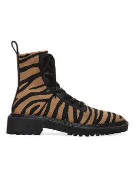brady-zebra-stripe-knit-combat-boots by loeffler-randall