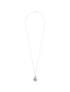 silver-aaron-orb-necklace by vivienne-westwood