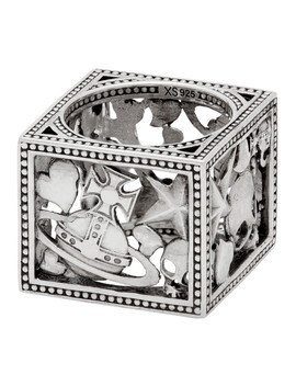 silver-aaron-square-ring by vivienne-westwood