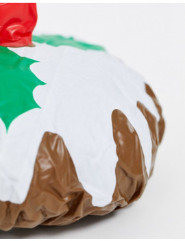 christmas-pudding-shower-cap by asos