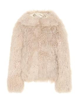 hooded-shearling-coat by alaïa
