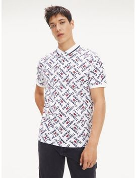 Allover Print Polo by Tommy Hilfiger