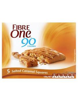 Salted Caramel Squares 5 Pack by Fibre One