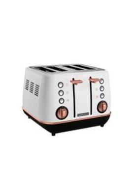 evoke-4-slice-toaster-white-rose-gold by morphy-richards