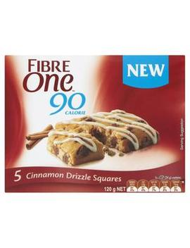 Cinnamon Drizzle Squares 5 Pack by Fibre One