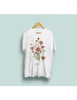 xeranthemum-annuum-unisex-t-shirt-illustrazione-botanica,-botanica,-arte-botanica,-fiore-tshirt,-annuale-immortelle,-s-m-l-xl-xxl by etsy