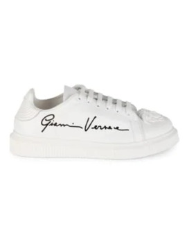 signature-nyx-medusa-icon-leather-sneakers by versace