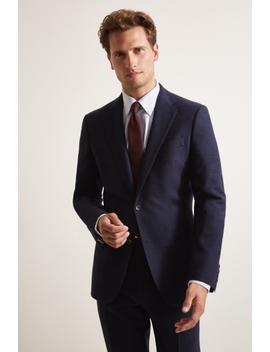 ermenegildo-zegna-cloth-tailored-fit-blue-puppytooth-suit by moss-bros
