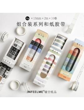 10pcs_pack-vinatge-grid-washi-tape-adhesive-tape-diy-scrapbooking-sticker-label-craft-masking-tape by aliexpresscom