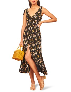 harper-print-midi-dress by reformation