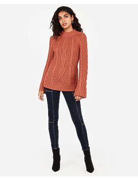 raglan-cable-kit-tunic-sweater by express