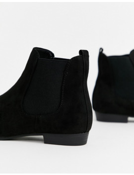 new-look-basic-chelsea-boot-in-black by new-look