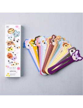 mohamm-30pcs_lot-cute-animal-paper-ruler-bookmark-for-books-clips-book-markers-stationery-school-office-supplies by aliexpresscom