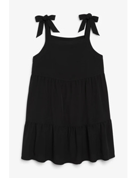 Tie Shoulder Dress by Monki