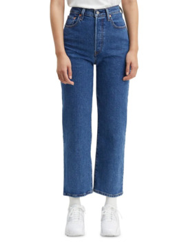 ribcage-straight-jeans by levis