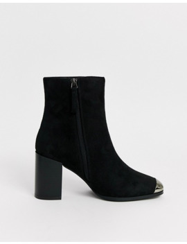 glamorous-black-metal-tipped-western-boots by glamorous