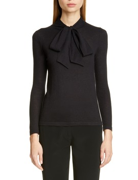 essentials-tie-neck-cashmere-sweater by co