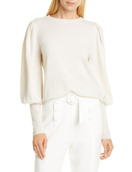 puff-sleeve-cashmere-sweater by jonathan-simkhai