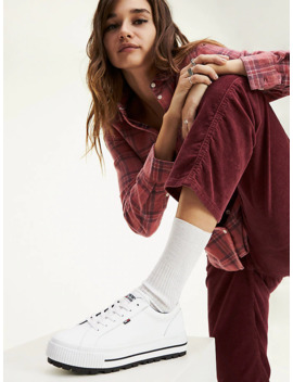 Flatform Trainers by Tommy Jeans