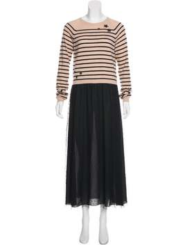wool-blend-maxi-dress by red-valentino