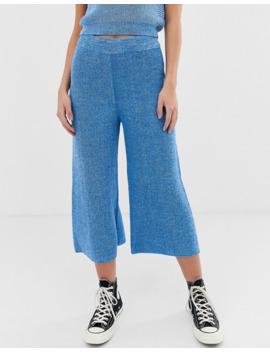 asos-design---jupe-culotte-densemble-en-maille-torsadée by asos-design