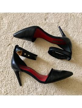 charles-jourdan-black-pointed-toe-pumps by charles-jourdan