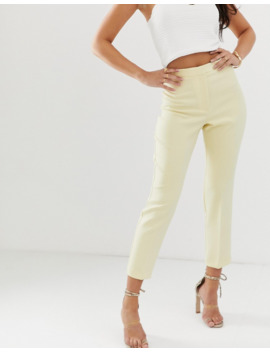 asos-design---pantalon-slim-de-costume---babeurre by asos-design