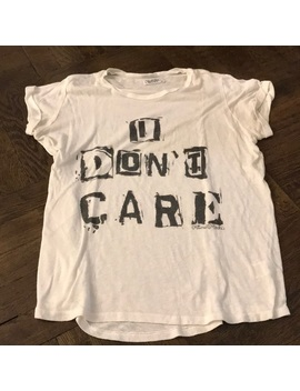 """""""i-don't-care""""-graphic-t-shirt by lauren-moshi"""
