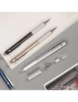 05mm-metal-mechanical-pencil-with-eraser-school-office-writing-supplies by aliexpresscom