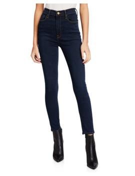 ali-high-rise-cigarette-skinny-jeans by frame