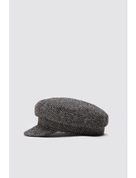 herringbone-skipper-cap by zara