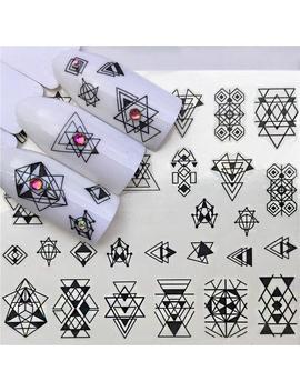 nail-stickers---nail-decals---nail-water-decals---nail-art-decal---nail-fashion---designs-for-nails---nail-tattoos---os-b012-131 by etsy