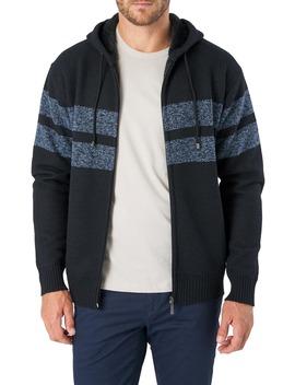 dublin-regular-fit-hooded-zip-sweater by 7-diamonds