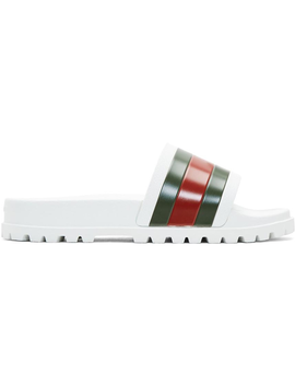 gucci-web-slide-sandal-white by stockx
