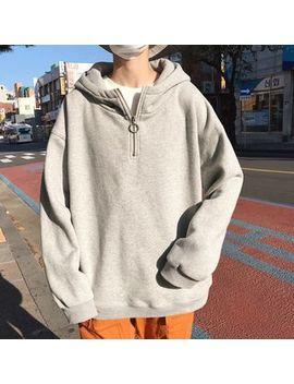 cerberus---zip-placket-hoodie by cerberus