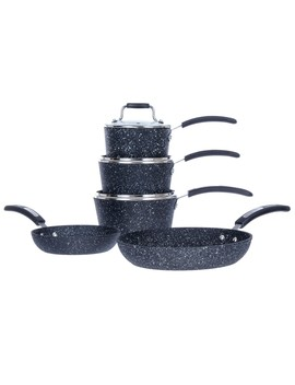 Scoville Neverstick 5 Piece Pan Set Scoville 28cm Non Stick Shallow Casserole Dish With Glass Lid Scoville 28cm Non Stick Grill Pan Scoville 28cm Non Stick Wok by Robert Dyas