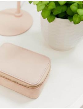 joyero-de-antelina-en-rosa-sombra-exclusivo-de-accessorize by accessorize