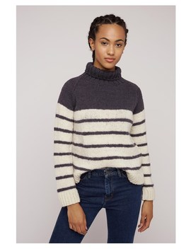 Liz Stripe Jumper by People Tree