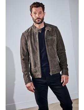 signature-suede-biker-jacket by next