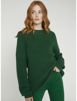Sarah Cut Out Boxy Sweater by Alice And Olivia
