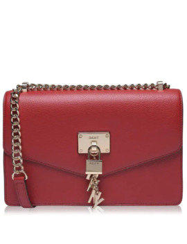 Elissa Large Shoulder Bag With Flap by Dkny
