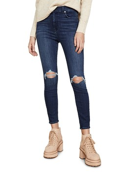 high-waisted-destroyed-ankle-skinny-jeans by 7-for-all-mankind
