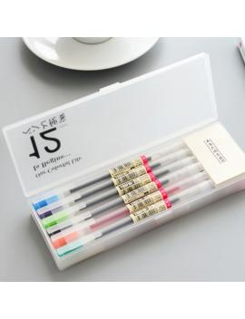 12-pcs_lot-muji-style-gel-pen-05mm-color-ink-pen-maker-pen-school-office-supply-12-colours by aliexpresscom