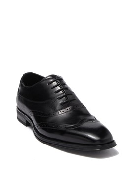 wingtip-leather-lace-up-oxford by karl-lagerfeld-paris