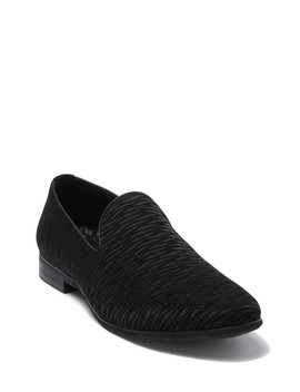 Textured Suede Loafer by Karl Lagerfeld Paris